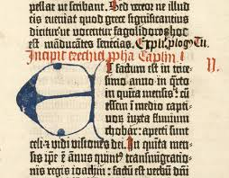 the gutenberg bible turns a new page