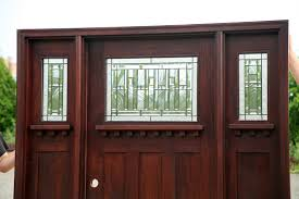 Craftsman Style Craftsman Style Front Doors