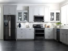 kitchen appliances bundles colorful kitchens black stainless steel refrigerator kitchen