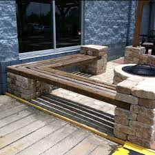 Wooden Bench Seat Designs by 25 Best Fire Pit Seating Ideas On Pinterest Backyard Seating