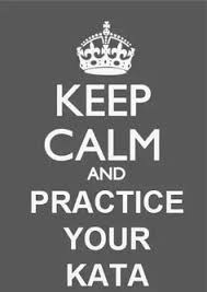 Karate Meme - i made this as a present for our sensei i like these keep calm