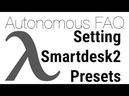 how to program autonomous desk how to set the standing desk presets on an autonomous smartdesk