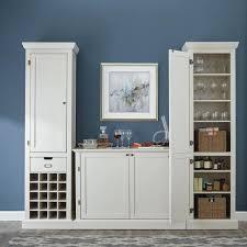 kitchen storage cabinets home depot home decorators collection prescott polar white modular