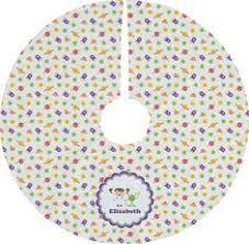 themed tree skirts geometric circles custom christmas tree skirt click image to get