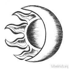 sun moon stencil by pasqi 1s suns moons silhouettes