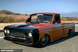 mitsubishi mini truck engine a datsun truck with skyline tricks speedhunters