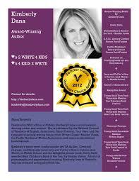 Kimberlys Bio Author Bio