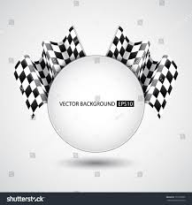 Checkered Flag Eps Racing Background Checkered Flags Eps10 Vector Stock Vector