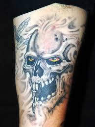 galleries bearded skull tattoo design