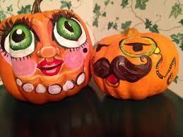 painting pumpkin faces halloween pinterest painting pumpkins