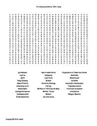 the developing world 1945 today vocabulary word search for world