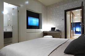 Bed With Lights In Headboard 93 Modern Master Bedroom Design Ideas Pictures Designing Idea