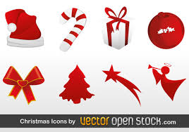 christmas free vector icons download free vector art free vectors