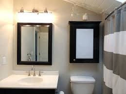 bathroom vanity mirror lighting cabinets lights sensational