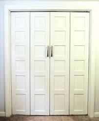 Closets Doors Using Bifold Closet Doors On Your Closet Cement Patio