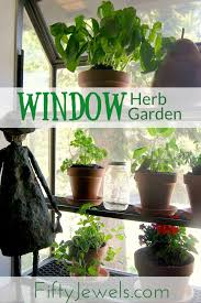 Easy Herbs To Grow Inside Best 25 Window Herb Gardens Ideas On Pinterest Diy Herb Garden