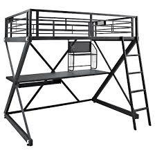 full loft bed frame target