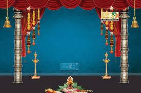 wedding backdrop design template stage backdrop ideas for vinayaka chaturthi and durga navaratri