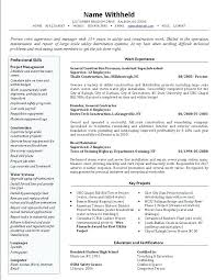 Resume Template For Retail Job Retail Management Resume Samples Retail Manager Cover Letter