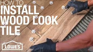 What To Look For In Laminate Flooring How To Install Wood Look Tile Youtube