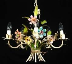 Painted Chandelier Tole Painted Chandelier Foter