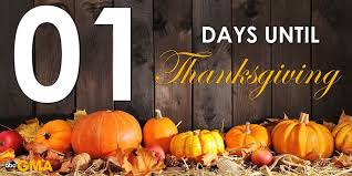 01 days until thanksgiving pictures photos and images for