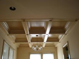 Interesting Home Decor by Interior Design Interesting Coffered Ceiling Cost For Home