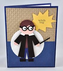 snippets by design a harry potter punch art card