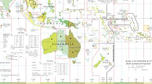 Pacific Time Zone Map Oceania Map Pacific