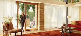 how to cover sliding glass doors privacy sheers luminette hunter douglas