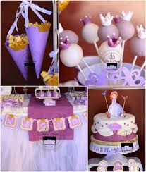 kara u0027s party ideas sofia the first princess birthday party ideas