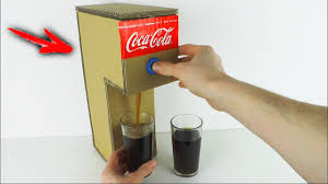 how to make coca cola soda fountain machine at home youtube