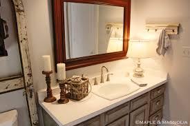 Fleur De Lis Bathroom Master Bathroom Makeover Maple U0026 Magnolia