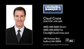 Realtor Business Card Template Coldwell Banker Business Cards Free Shipping And Design No