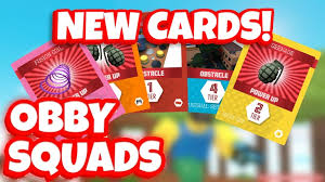 picture cards obby squads new cards roblox