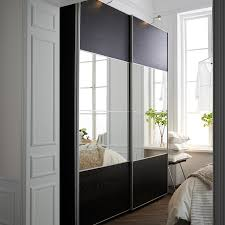 Ikea Sliding Closet Doors Pax Door Hack Closet Doors No Bottom Rail Sliding Ikea Room