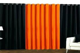 Orange White Curtains Orange And Grey Curtains Convertible Drapery Color Block Orange