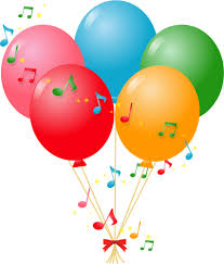 palloncini clipart palloncini e musica immagini vettoriali gratuiti
