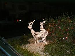 Outdoor Christmas Decoration Lights Reindeer by 10 Funny Redneck Christmas Decorations For Hunters