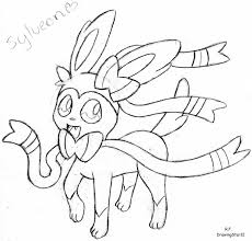 pokemon coloring pages sylveon hicoloringpages in and shimosoku biz