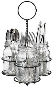 dining room silverware tray for drawer flatware caddy buffet