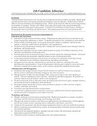 high resume summary exles resume summary exles for highschool students lovely sle of a