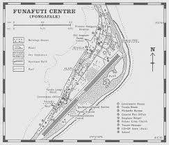 map of tuvalu map of funafuti on fongafale island in tuvalu