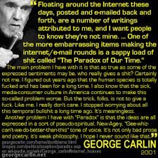 bogus carlin quotes georgecarlin net