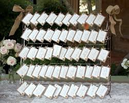 rustic wedding place card display ideas rustic wedding chic