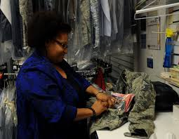 cleaners alterations ensure barksdale airmen look sharp