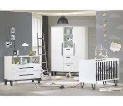 chambre bébé sauthon lit bébé 120 x 60 graphite