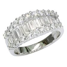 all diamond ring imperial baguette cut diamond ring from shipton and co uk