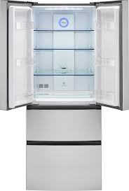 French Door Fridge Size - amazon com haier 15 cu ft french door refrigerator 28