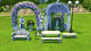 wedding arches in sims 4 the sims 4 hangout stuff pack review